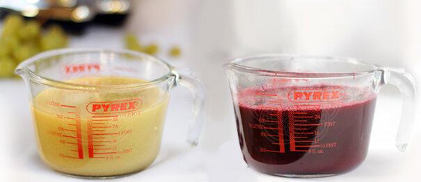 Виноградный сок с помощью шнековых соковыжималок