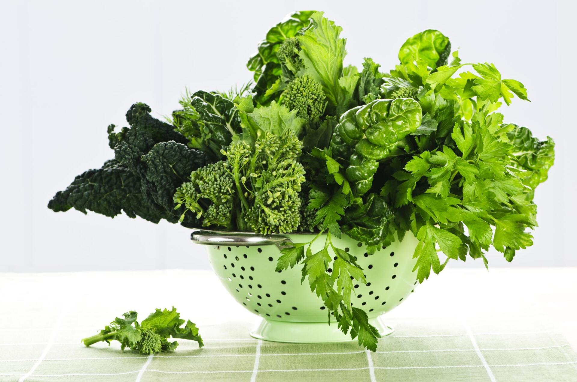 лиственная зелень омолаживает мозг
