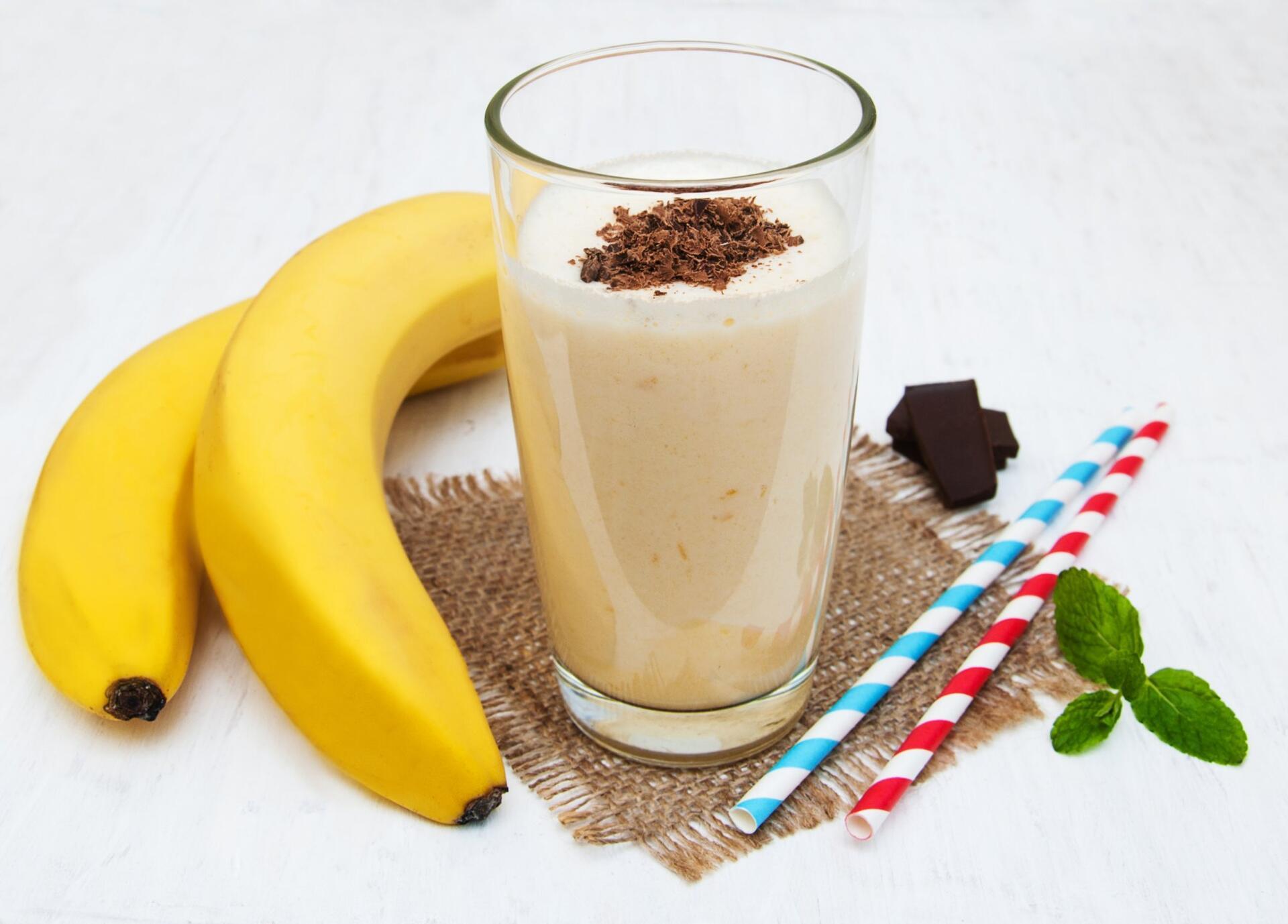 коктейль Шоколадные бананы